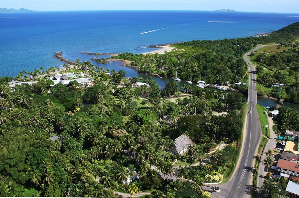 Pacific Harbour aerial view (C) ChasingSun.com